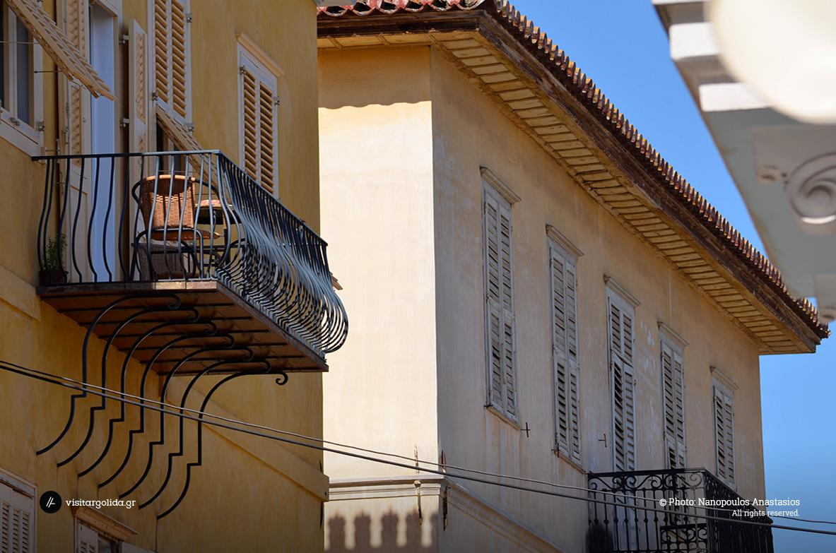 Στα σοκάκια της παλιάς πόλης, Ναύπλιο